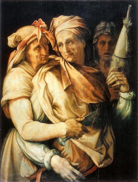 Les Fates d'aprés Salvati (1550) © Galleria Palatina, Florence