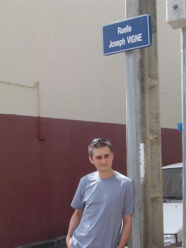 Une ruelle sur le trajet entre mon hôtel et le collège Terre-Sainte