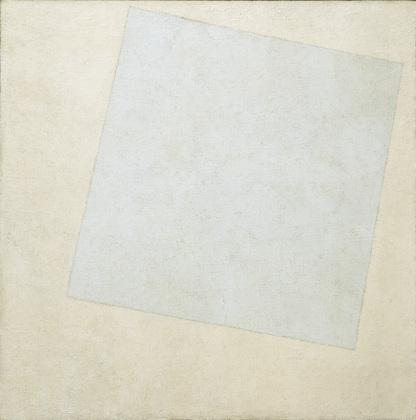 blanc sur blanc, début et fin